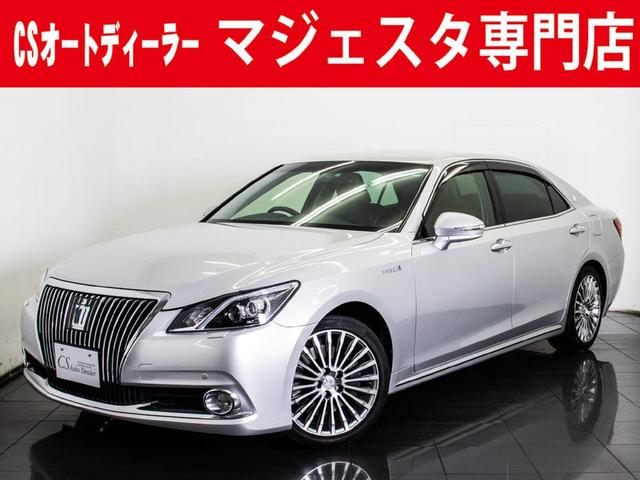 トヨタ 3.5HV F 黒本革 Fプリクラッシュ BSM 新品タイヤ