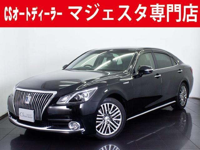 トヨタ 3.5HV F 黒本革 エアシート Fプリクラッシュ