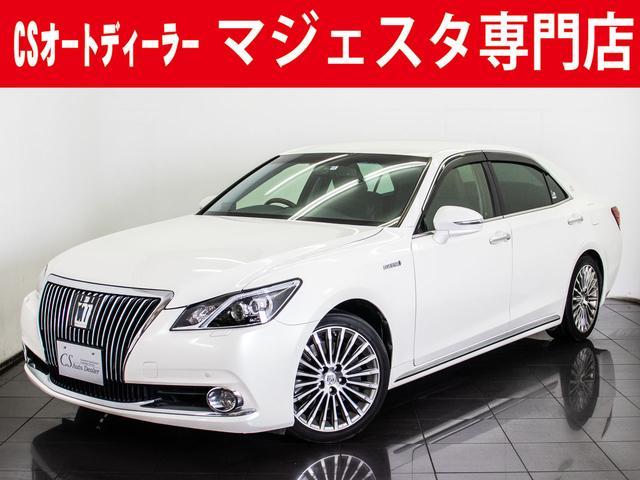 トヨタ 3.5HV F 黒本革 OP18アルミ 冷暖房シート HDD