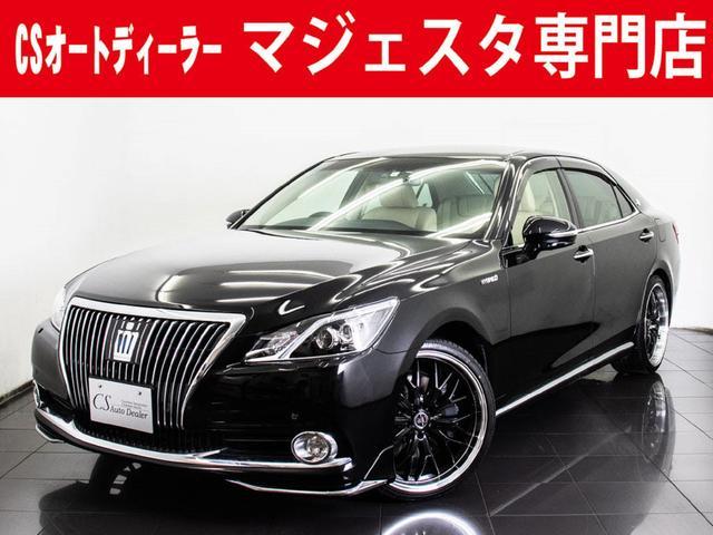 トヨタ Fバージョン 新品20インチAW プリクラSS 本革 BSM
