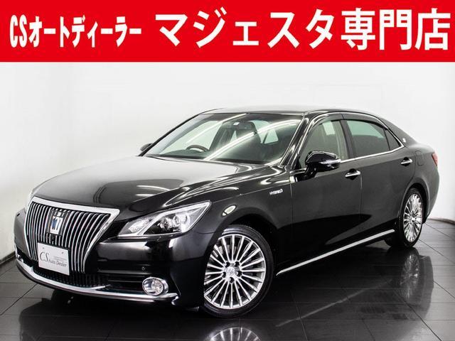 トヨタ 3.5F 黒革 Aビュー 後席VIP OP18AW プリクラ