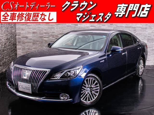 トヨタ 最上級Fバージョン 後席VIP  黒本革 ETC レーダーC