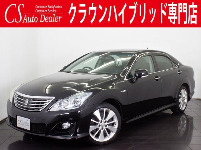 トヨタ ベースグレード 黒本革 冷暖房シート 後席VIP HDD