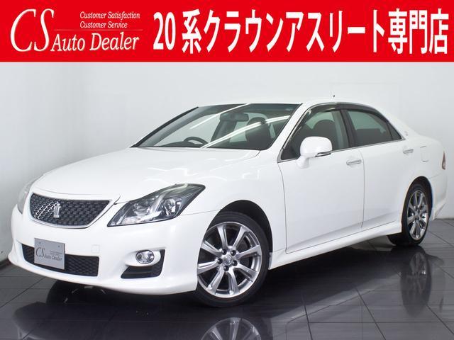 トヨタ 3.5アスリート 黒本革 HDDマルチ フルセグ ETC
