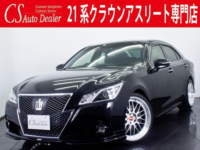トヨタ アスリートG 黒革エアシート トムスエアロ 新品カスタム