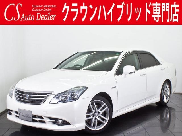 トヨタ 3.5HV 黒革 エアシート 車高調 HDD フルセグTV