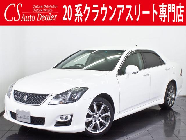 トヨタ 3.5アスリートG 黒本革冷暖房シート HDD 地デジ CD