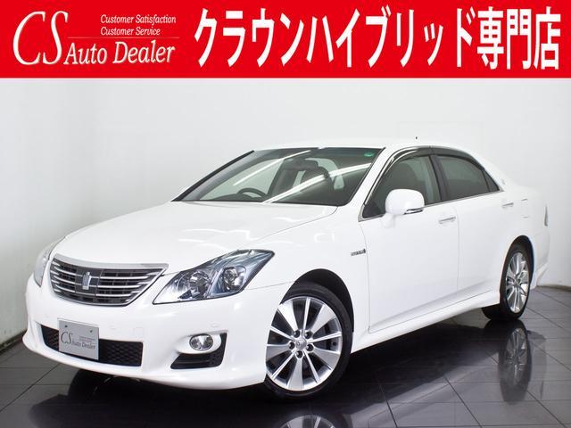 トヨタ 3.5 HV 黒本革 シートヒーター エアシート