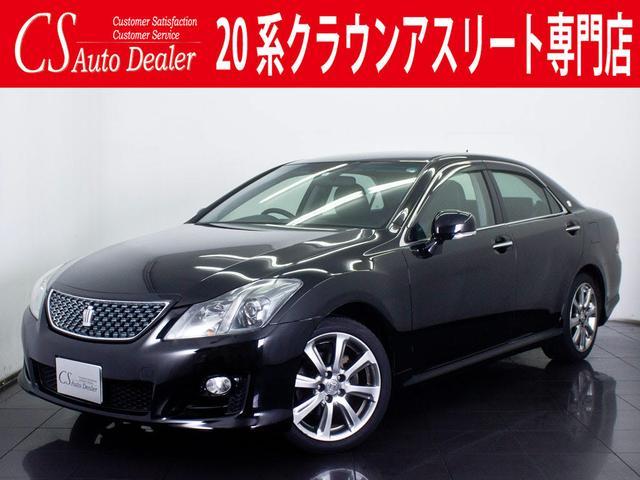 トヨタ 2.5アスリート ナビPKG 新品本革シート HDD 地デジ