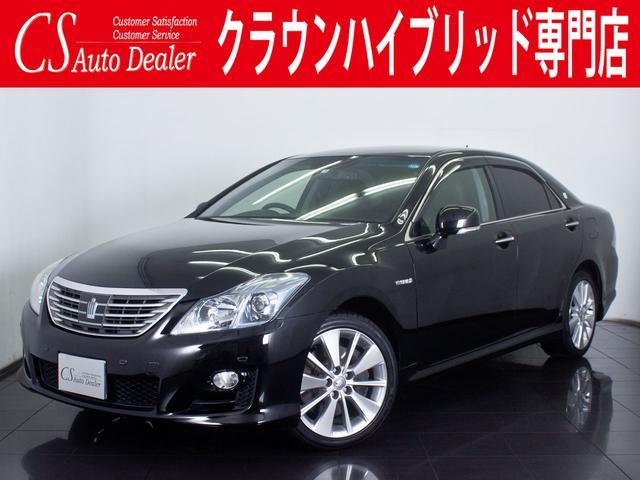 トヨタ 3.5HV 黒本革 エアシート Fプリクラッシュ Cソナー