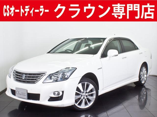 トヨタ 3.5HV 黒革 冷暖房シート HDDマルチ クリソナ