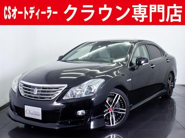 トヨタ 3.5HV STD 本革シート フルエアロ 車高調
