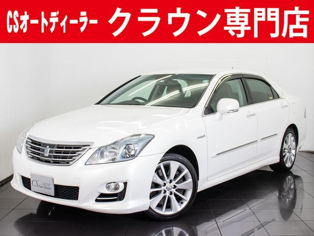 トヨタ 3.5HV 黒革 エアシート HDD プリクラッシュ 地デジ