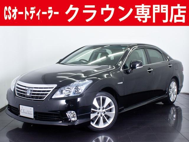トヨタ 3.5HV G 後期型 黒革 フルエアロ 冷暖房シート