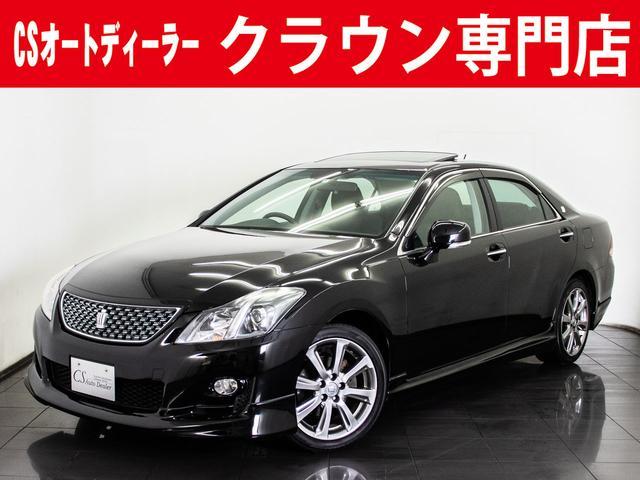 トヨタ 2.5アスリート ナビPKG サンルーフ 黒革 HDD