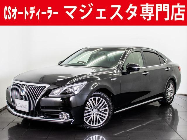 トヨタ 3.5HV F 黒本革 BSM プリクラ 後席VIP HDD