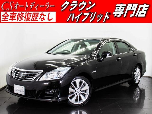 トヨタ 3.5HV 黒本革 プレミアムSS 後席VIP プリクラ