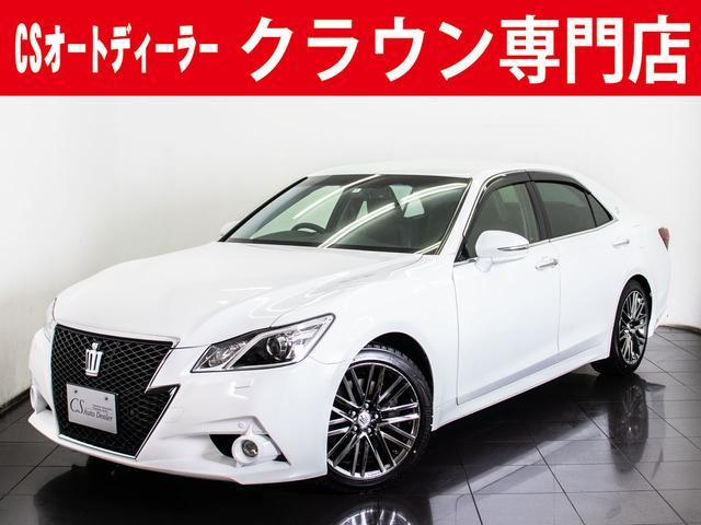 トヨタ 3.5アスリートG 黒本革 18AW レクサスパール HDD