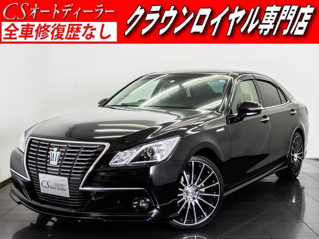 トヨタ ロイヤルサルーン フルエアロ 新品20AW 黒革 HDD