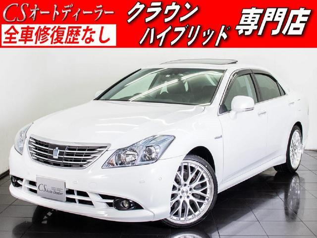 トヨタ 3.5HV  黒革 サンルーフ 新品20AW レクサスパール