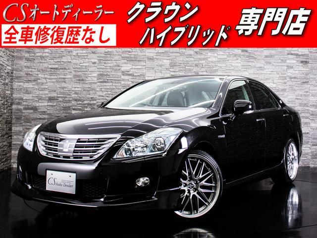 トヨタ 3.5HV 黒本革 フルエアロ 新品20AW 後席VIP