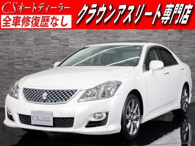 トヨタ 3.5アスリート サンルーフ 黒本革 Bluetooth可