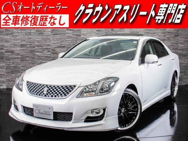 トヨタ 3.5アスリート 禁煙車 SR フルエアロ 黒本革 20AW