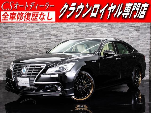 トヨタ ロイヤルサルーン 新品20アルミ 新品フルエアロ HDD