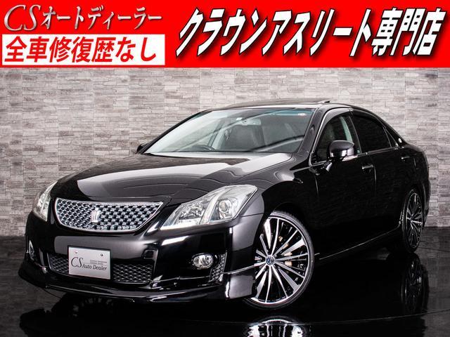 トヨタ 3.5アスリート 黒革 サンルーフ 20AW エアロ LD