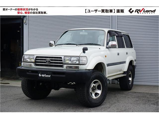 トヨタ GX 3NO リア観音 リフトアップ 社外マフラー 禁煙車