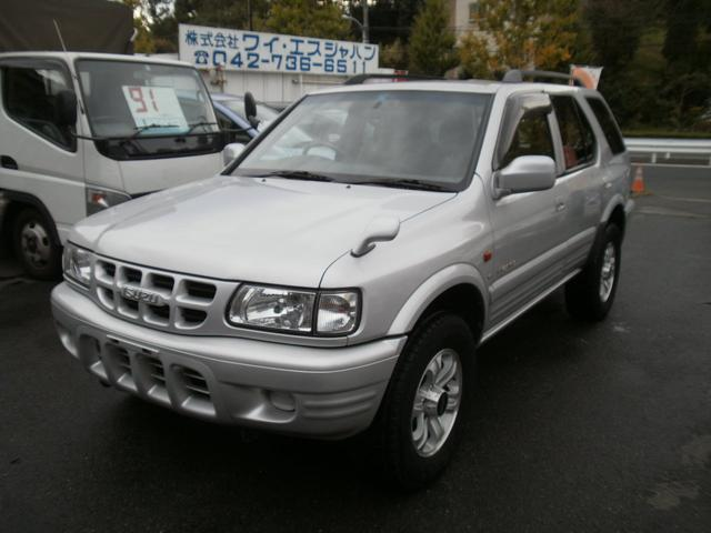 いすゞ LS 4WD ルーフレール付 CD再生 エアコン ABS