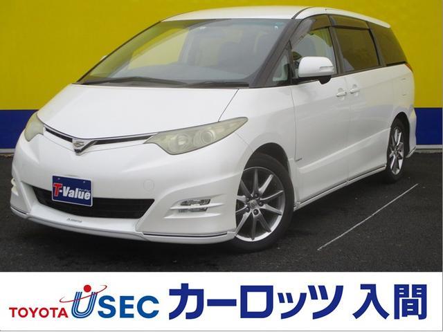 トヨタ アエラス Sパッケージ ケンスタイルエアロ HDDナビ