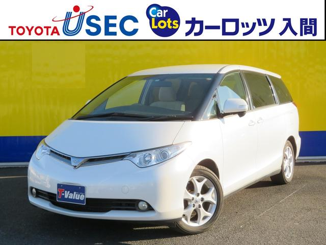 トヨタ エスティマ HDDナビ 両側Pスライドドア ETC クル...
