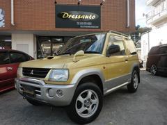 パジェロミニVターボ・4WD・4AT・キーレス・DVDナビ