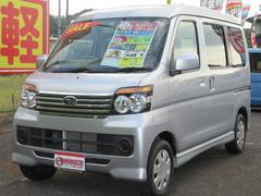 ディアスワゴンLS 4WD ターボ メモリーナビ TV ETC 純正エアロ