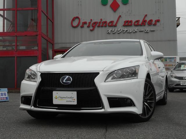 レクサス LS600h Fスポーツ クロスライン マクレビ SR 本革