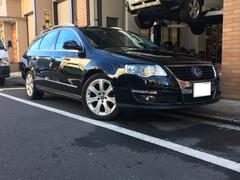 VW パサートヴァリアント2.0 FSI 禁煙車 純正レザーシート・ナビ 地デジ