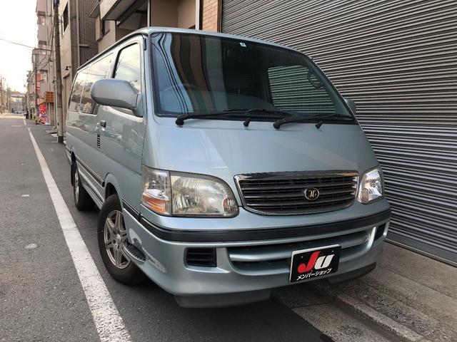 「トヨタ」「ハイエース」「ミニバン・ワンボックス」「東京都」の中古車