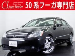 フーガ250GT 新品黒革 社外20AW 新品エアロ HIDライト