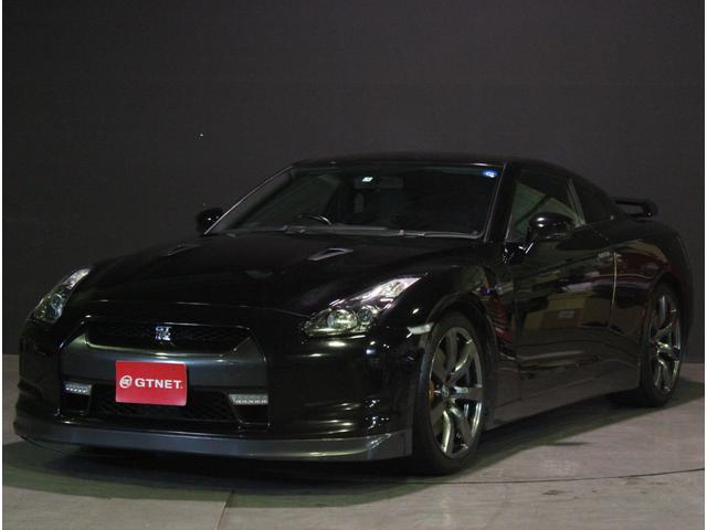 日産 GT-R ベースグレード 新品タイヤ 純正HDDナビ ETC ハーフレザーシート