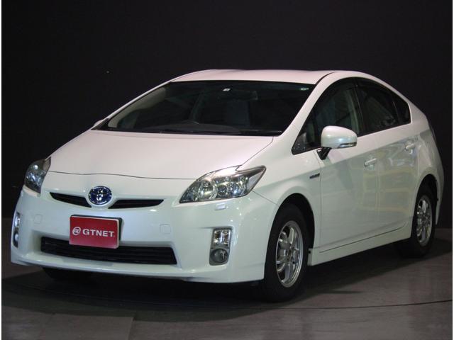 トヨタ プリウス S LEDエディション SDナビTV ETC ミラー型ドライブレコーダー LEDヘッドライト 純正アルミ スマートキー ヘッドライトウォッシャー
