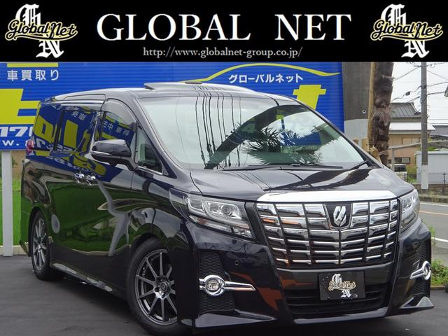 トヨタ 3.5SA-CPKGサンルーフ黒革エアロ外AW車高調Rモニタ
