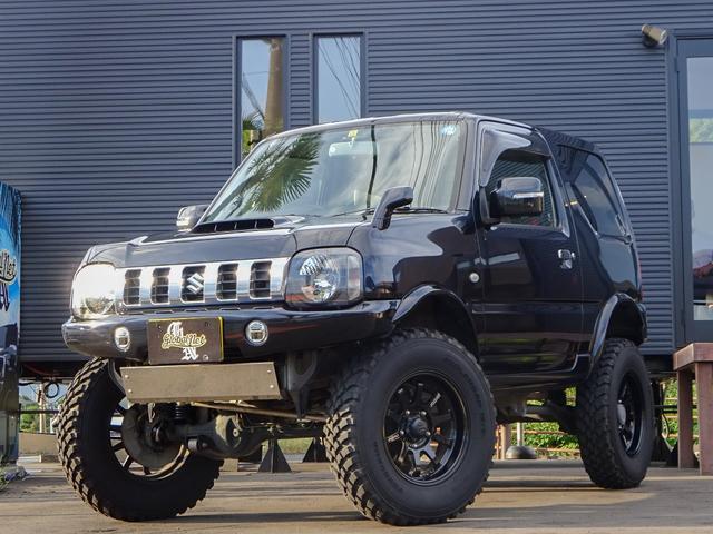 スズキ クロスアドベンチャー特別仕様車4WDリフトアップ社外16AW