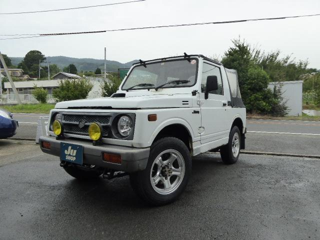 スズキ CC 幌 ターボ 4WD CDデッキ