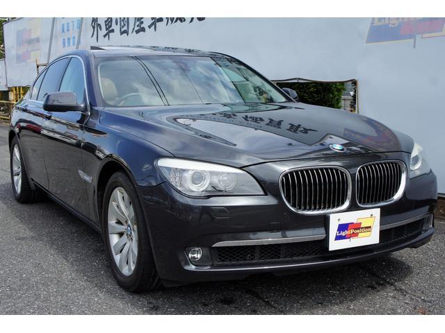 BMW 740i コンフォートプラスPKG サンルーフ 本革シート