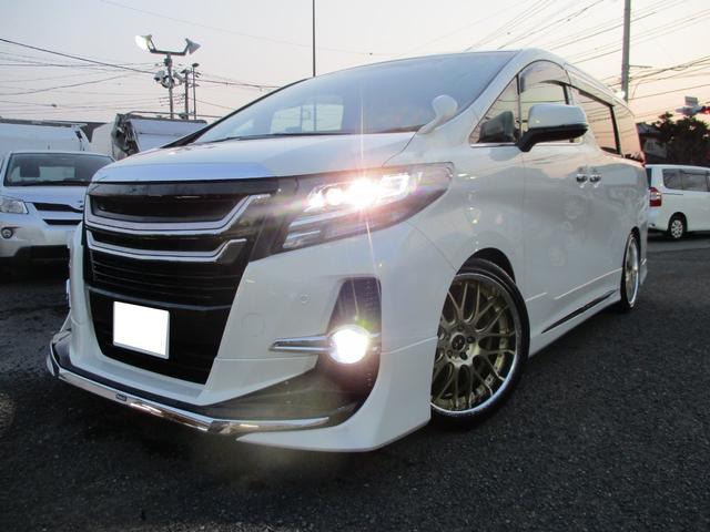 トヨタ 2.5S 車高調 モデリスタエアロ&グリル 20インチ SR