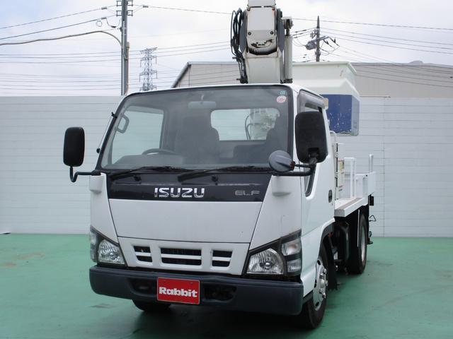 いすゞ 高所作業車 タダノAT-100TT 9.9mFRPバケット