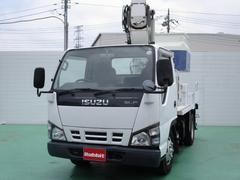 エルフトラック高所作業車 タダノAT−100TT 9.9mFRPバケット