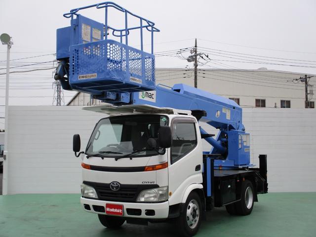 トヨタ 4.0Dターボ 高所作業車 17m S-mac ST-170