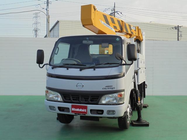 日野 高所作業車4WD アイチSE10A 作業床9.9m